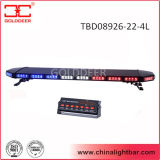 Barra clara de advertência do diodo emissor de luz com tampa preta de alumínio (TBD08926-22-4L)