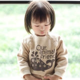 BabyおよびKidsのための有機性Cotton Cute Sweatshirts