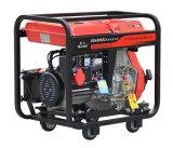 De luchtgekoelde Open Diesel van het Type van Frame Reeks van de Generator In drie stadia (DG6000E3)