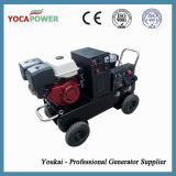 용접공과 공기 압축기를 가진 5kVA 휴대용 가솔린 전기 발전기