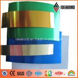 Bande en aluminium enduite d'une première couche de peinture de matériau de construction d'Ideabond