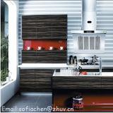 Jogo inteiro acrílico do armário de cozinha do MDF do lustro elevado