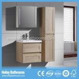 Конструкции блока шкафа ванны дуба переключателя касания СИД установленная ванная комната типа новой самомоднейшей деревянной новая (BF119M)