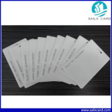 Cr80 Size 125kHz Tk4100 White Plain PVC ID Cards