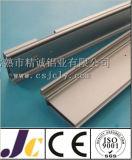 Profilo di alluminio dell'espulsione con la spazzolatura (JC-W-10024)