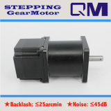 Motor de pasos de NEMA23 L=42mm con 1:50 del cociente de la caja de engranajes