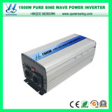 inversor puro auto de la potencia de onda de seno 1500W 12/24V con el indicador digital (QW-P1500)