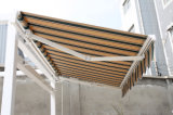 Retractable básico Awning com Pitch Adjustment Polyester Fabric (S-02)