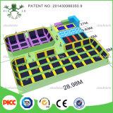 中国の一流のトランポリンの製造業者の大きい屋内トランポリン公園のゲーム