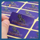 Etiqueta roxa da etiqueta do papel de impressão (CMG-STR-007)
