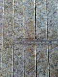 Плитки граници Bushhammer гранита золота захода солнца G682 для Paver плавательного бассеина