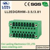 Pluggable разъем терминальных блоков Ll2edgrh-3.5/3.81
