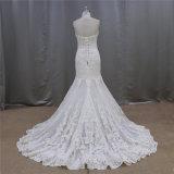 Robe de mariage faite réelle en forme de coeur de Merdaid