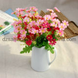 Fleur artificielle rurale de fleurs sauvages de type (SW02613)