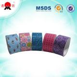 Bande colorée adhésive estampée d'emballage de qualité de BOPP