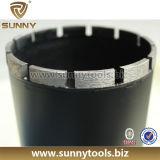 最もよい品質のダイヤモンドの穿孔機はコンクリート、アスファルトのためにかんだ