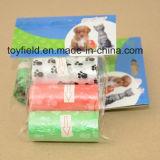 犬の船尾袋プラスチック香料入りペット無駄袋