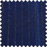 Имеющяяся ткань джинсовой ткани хлопка с резьбой золота