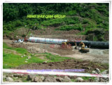 Q235 Material Metal Corrugated Culvert Pipe für Sale
