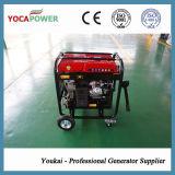 Gerador da gasolina da potência de 4 quilowatts com o compressor do soldador e de ar