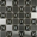 壁のクラッディング(FYMG070)のためのステンレス鋼の金属のモザイク壁のタイル
