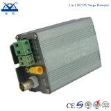 3 in 1 potere/riga protezione controllo/del video di impulso della macchina fotografica della cupola del CCTV