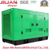 Pouvoir silencieux électrique des prix de vente d'usine de Guangzhou 80kw diesel avec le générateur de Perkins