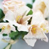 高品質の装飾(SF15232)のための高貴なローズの花束の人工花