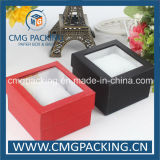 Cardboard duro Watch Packing Box con Pillow Insert