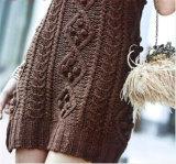 Mini vestito europeo Sleeveless sexy dal maglione