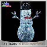 boneco de neve branco do diodo emissor de luz do acrílico 24V para 2015