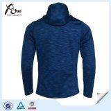 完全なジッパーの羊毛ポリエステル安い卸し売りメンズスポーツジャケット