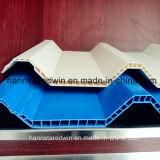 Архитектурноакустический гонт крыши красит плитку толя PVC полую Twinwall пластмассы
