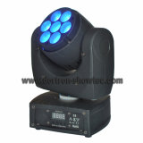 LED 이동하는 맨 위 광속 빛 7X8w RGBW 4in1