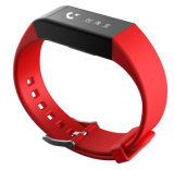 Reloj elegante del podómetro del ritmo cardíaco del perseguidor de la actividad de la pulsera de Bluetooth