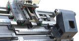 Stl12 8 역 포탑 자동 Lubircation 시스템 자동적인 Tailstock 조정가능한 작동 위원회 CNC 선반 공작 기계