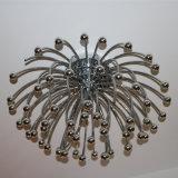 De Lamp van het Plafond van het Roestvrij staal van de Vorm van het vuurwerk voor het Project van het Hotel