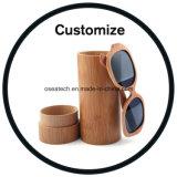 Rectángulo de bambú de madera de las gafas de sol
