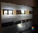 Изготовленный на заказ прозрачный стикер винила Wondow, литерность окна для промотирования (SS-SC-8)