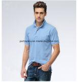 Camicia di polo pura scarna degli uomini di colore di nuovo modo di disegno