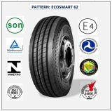 Tous les pneus radiaux en acier de camion et de bus avec le certificat 12r22.5 (ECOSMART 62 ECOSMART 78 ECOSMART 81) de CEE