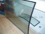 Vidrio aislador con dimensión de una variable plana o curvada