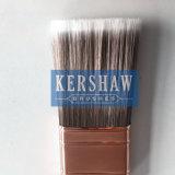 Cepillo de pintura (brocha, cepillo plano afilado del filamento con la manija de madera dura)