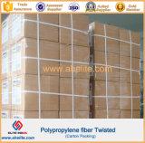 El polipropileno Undee de los PP agitó la fibra para la construcción concreta de la tarjeta del cemento de la pared del suelo del cemento