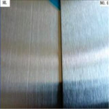 Поставщик Китая сатинировки 304 ранга AISI 430 листа нержавеющей стали поверхностной или отделки No 4 с пленкой PVC отрезока лазера