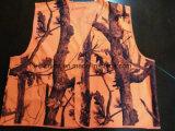 Maglia di sicurezza con All Over colore dell'arancio della stampa 100%Polyester