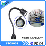 M3w 24V IP65 impermeabilizan la luz del cuello de cisne para la máquina del CNC