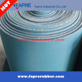 Ungiftiges Industrial Fabric/Cloth Insertion Rubber Sheet Roll (Matte)