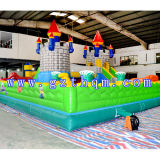 Handelsluft-springendes Prahler-aufblasbares Schloss/aufblasbarer Prahler