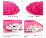 Spazzola facciale del silicone impermeabile facciale elettrico della spazzola